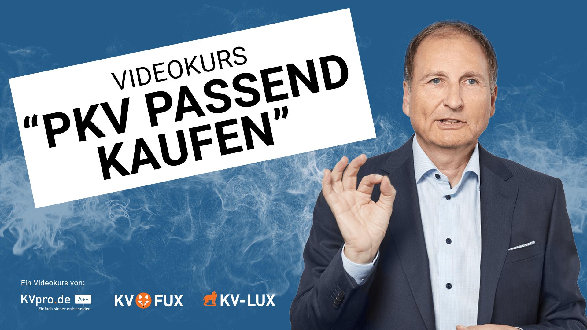 """Videokurs """"PKV passend kaufen"""" - Ihr Online Versicherungsberater Gerd Güssler"""