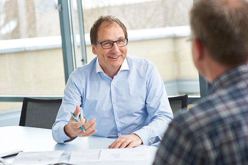 Versicherungsberater Gerd Güssler berät zur Privaten Krankenversicherung