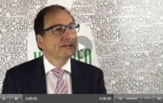Versicherungsberater Freiburg Gerd Güssler im Pfefferminzia-Interview auf der DKM 2015.