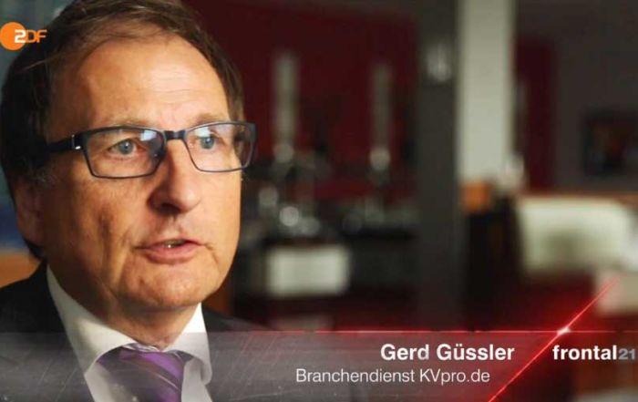 Basistarif PKV: Frontal 21 fragt Gerd Güssler