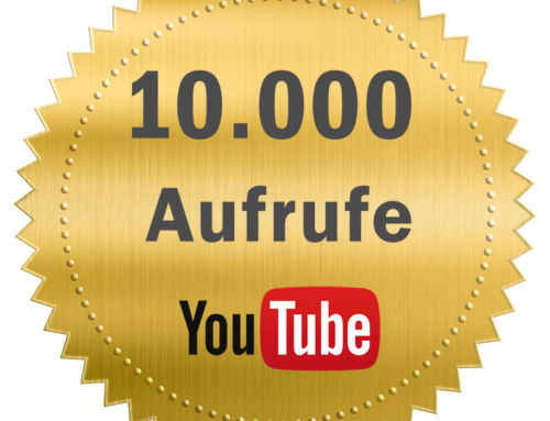 Danke für 10.000 YouTube-Aufrufe